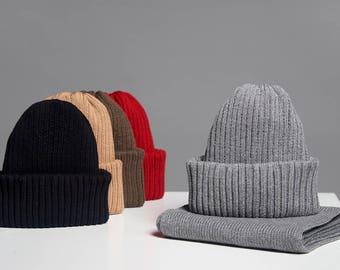 Gray beanie hat, beanie gray, gray beanie for winter
