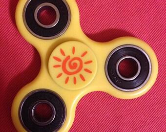 Bulk 150- Fidget spinner with 2 custom decals on each spinner