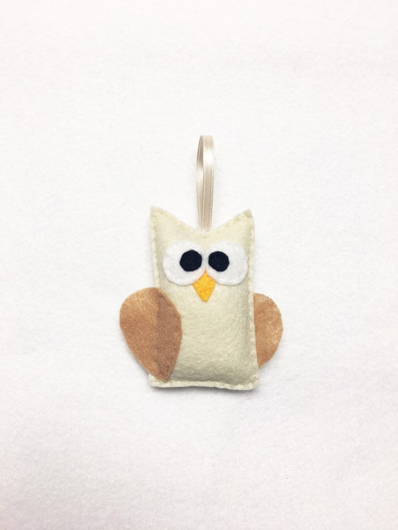Owl Ornament, Christmas Ornament, Ornament, Julia the Owl, Teacher Gifts, Woodland Animal, Farmhouse, Gifts under 10