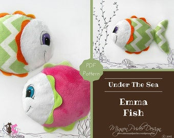 Fish Sewing Pattern