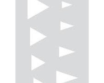Template for polymer clay TRIANGLES