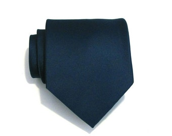 Necktie for Men Dark Teal Silk Tie With *FREE* Matching Pocket Square Set