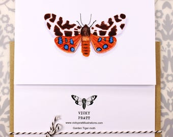 Garden Tiger Moth CARD