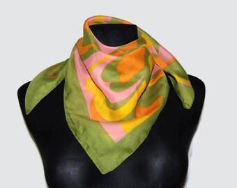 Belvedere translucent square scarf, Made in Austria