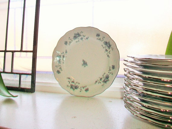 Johann Haviland Blue Garland Bread and Butter Plate Traditions Fine China 13 Available