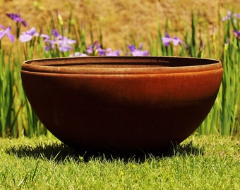 Fire Pit  37 inch Planter, FirePit, Fire Pits, FirePits, Garden Planter, Steel Fire Pit Metal Fire Pit, Fire Bowl, Outdoor Fire Pit,