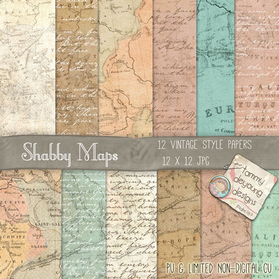 Map digital paper old world map paper printable maps shabby chic map digital paper old world map paper printable maps shabby chic invites cards announcements travel journal travel decor weddings from songinmyheart gumiabroncs Images