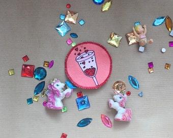 Bubble Mooncup mini Patch