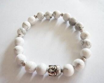 Tibetan Howlite bracelet