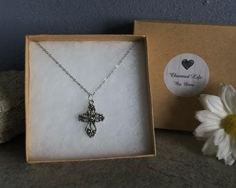 Ornate Cross Necklace