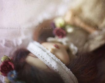 "Tirage simple 10x15cm ""Sleeping Beauty"" - Pullip Isul Dal photographie, doll art collection, impression deco no BJD no Blythe"