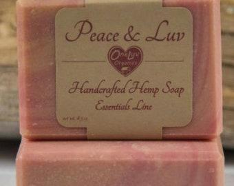 Hemp soap Peace Luv