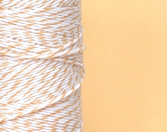 Gift Wrap Peach Cotton Baker Twine for Crafting, Presents and Finishing Touches