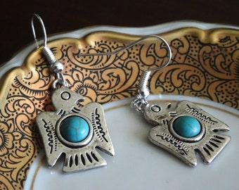 Phoenix Dangle Earrings