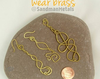 Copper Statement Pendant Necklace & Bold Earrings by Sandman Metals