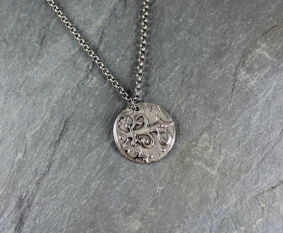 Secret Garden pendant necklace ~ Artisan Handcrafted