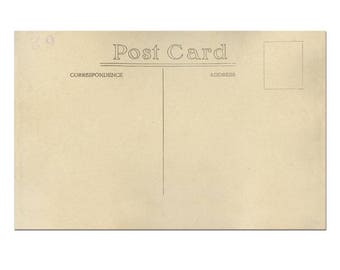 Postcard Template, Postcard Download, Old Postcard Printing, Vintage Postcard Scrapbook #2 - [Digital Postcard]