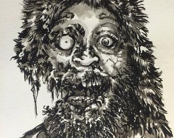 Zombie Portrait ONE person