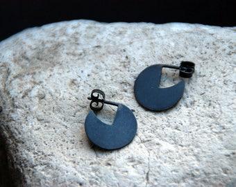 Luna // Disc Earrings