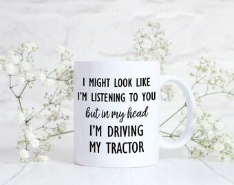 Gift for a Farmer Gift, Farmer Mug, Farm Tractor, Gift for Tractor Lover Gift, Mug for Farm Lover, Farmer Mug, Tractor Mug