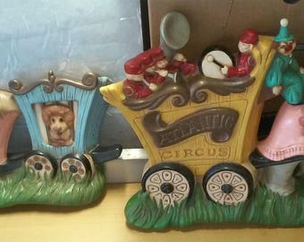 Atlantic Mold Circus Train - 2 pieces!
