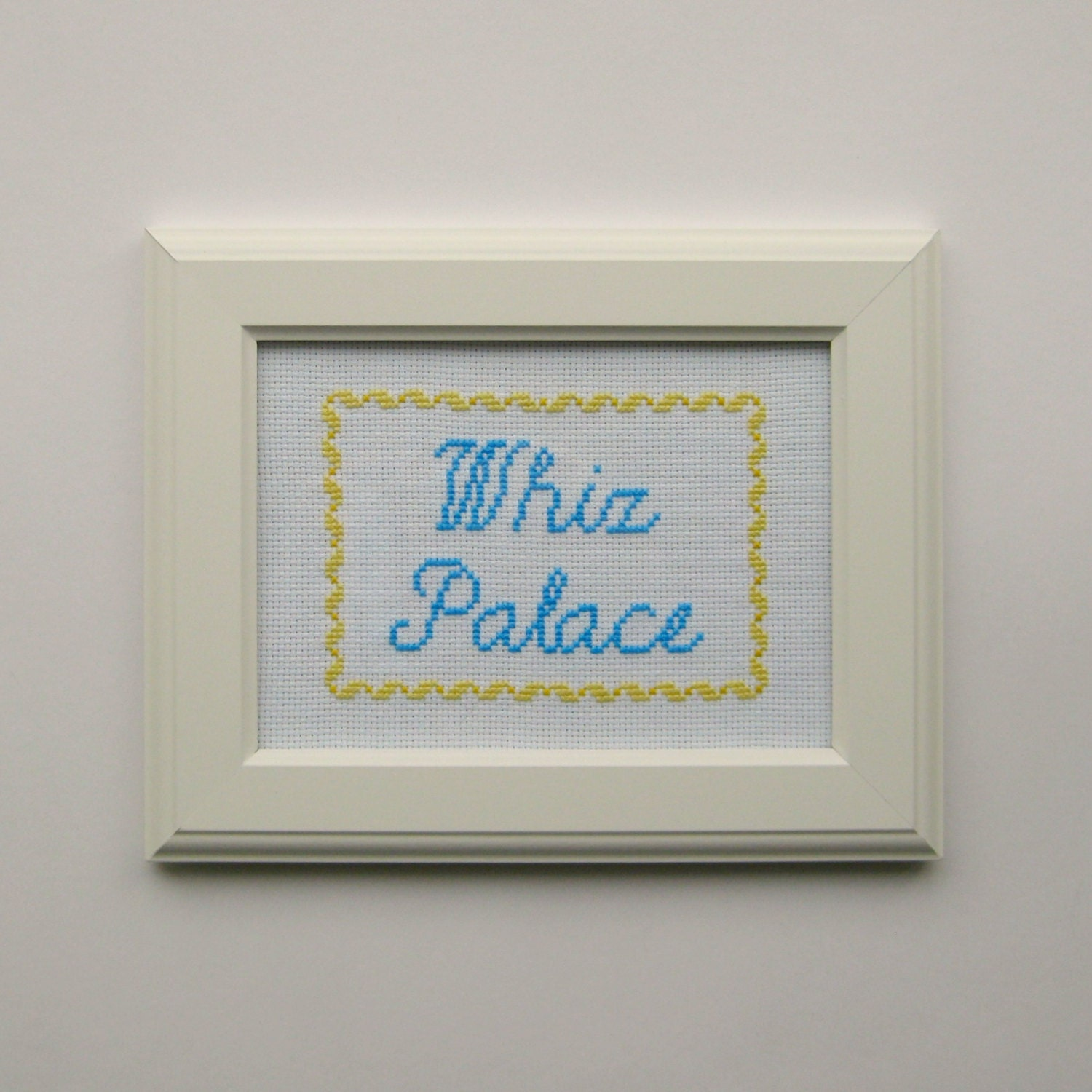 Whiz palace cross stitch pattern washroom bathroom sign zoom jeuxipadfo Gallery