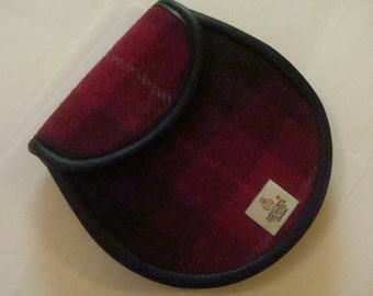 Harris tweed sporran made in Scotland ladies gift Scottish gift tartan purse tweed bag
