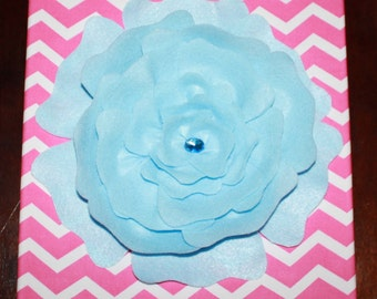 Flower 3D Fabric Wall Hanging Choose your Own Colors 12x12 Buy More, Save More! Custom designs