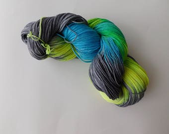Breakthrough 2 hand dyed sock yarn/wool