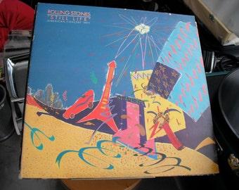 Th Rolling Stones Still Life on Rolling Stones Records 1981 original vintage vinyl American Tour