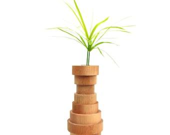 Wood Vase Standard  - TheWoodManStore