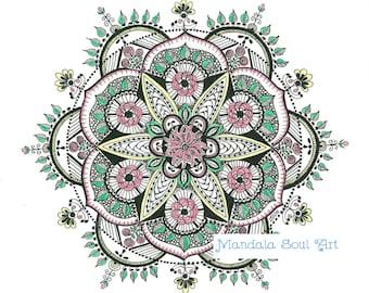 Mandala Soul Art Garden
