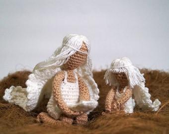 Angels, Crochet Pattern PDF, Amigurumi, Amigurumi Pattern Crochet Amigurumi, Angel Toy, Crochet Doll Crochet, Angel Pattern, Christian Gift