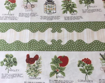 Coleslaw cotton craft fabric by Wilmington Designs by the half metre