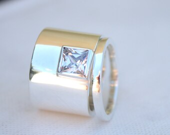 Unusual wedding ring Etsy