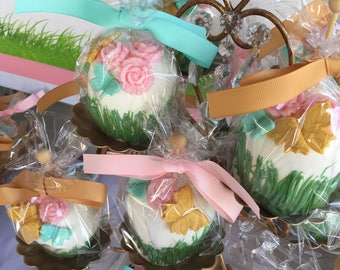 Garden Chocolate Covered Apples