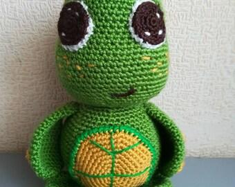 Crochet turtle Turtle toy Sea turtle Tortoise Sea turtle stuffed animal  Adorable Turtle