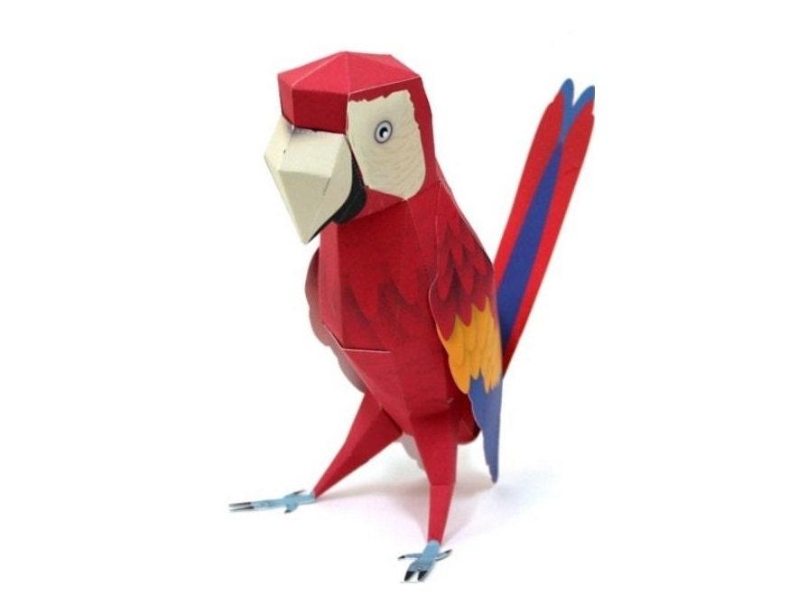 Diy Parrot Toy Craft