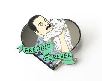 Freddie Mercury Enamel Pin