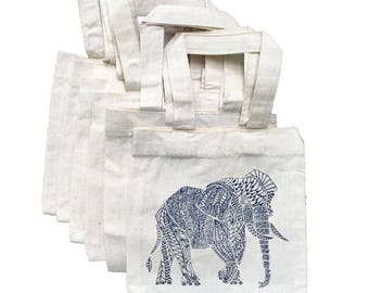 Elephant Party Favor Bags, Elephant Party Bag, Elephant Party Bags, Elephant Party, Elephant Party Decor, Baby Shower Favor Bag, Elephants