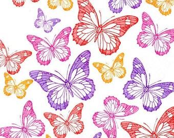 177 - Butterfly paper napkin