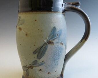 Stein - Blue Dragonfly Swarm of 7