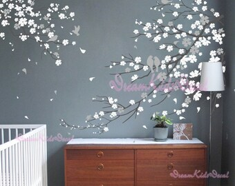 Nursery Wall Decal Wall Sticker - Blossoms Tree decal -DK006