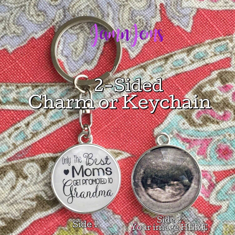 custom grandma photo keychain personalized gifts for grandmother