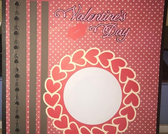 Valentines Day 12x12 Premade Page
