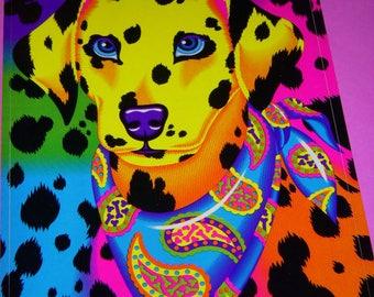 Vintage Lisa Frank Sticker Large Sticker Full Sheet Dalmatian Dog