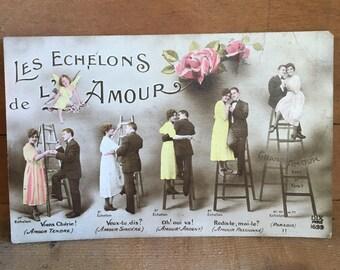 Vintage French Love Letter - 1921