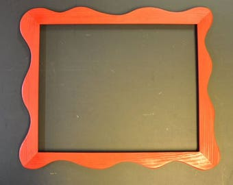 11x14 Funky Picture Frame with Mounting Hardware