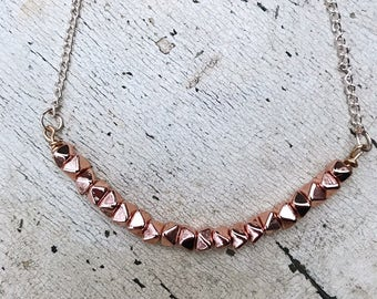 Rose Gold Simple Statement