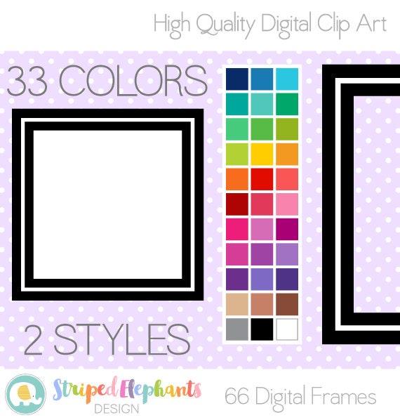 line square digital frames clip art borders clipart frames rh etsystudio com clip art borders and frames free download border frame clipart